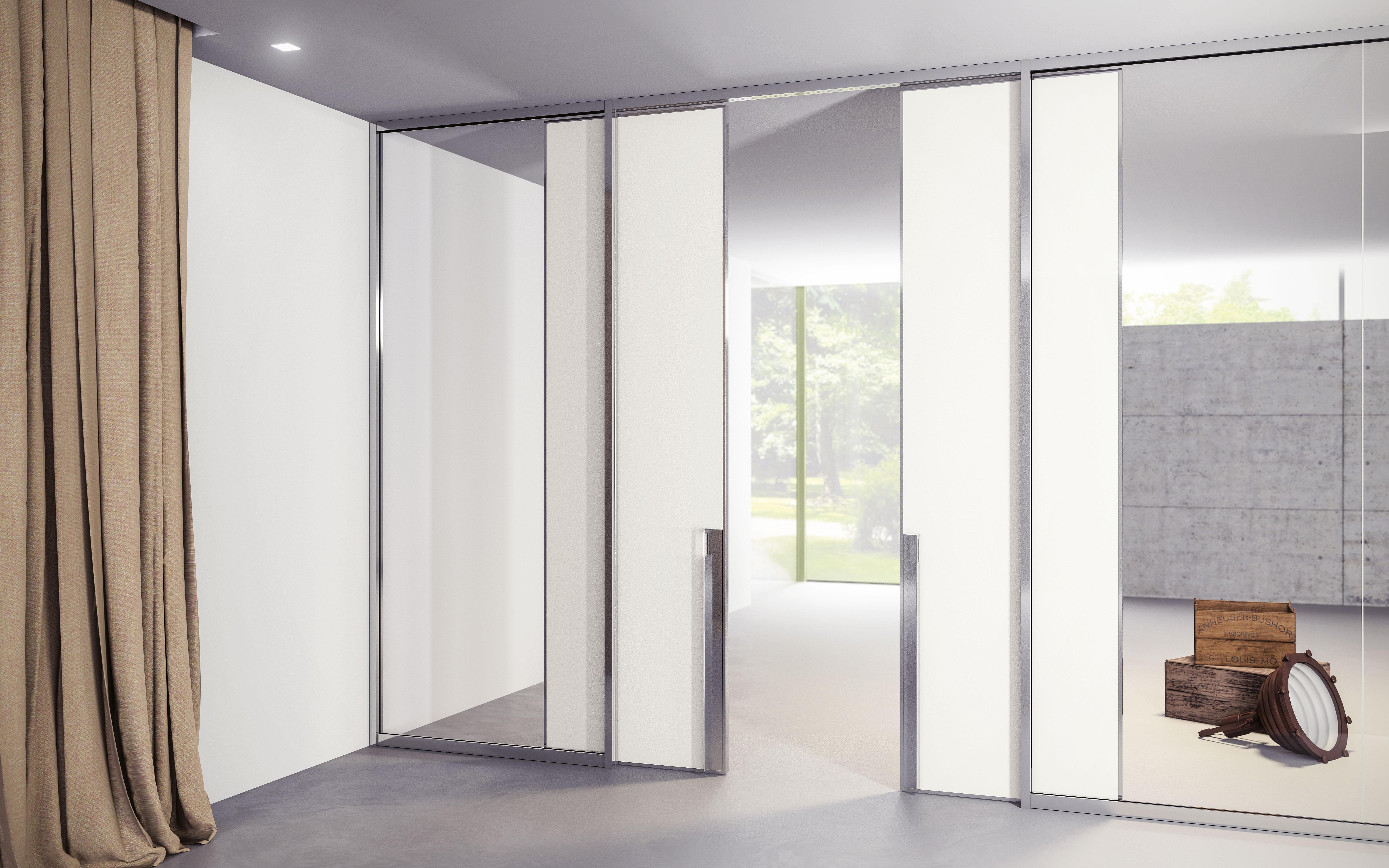 Parete Divisoria In Legno pareti divisorie in vetro/legno: arredamento per uffici