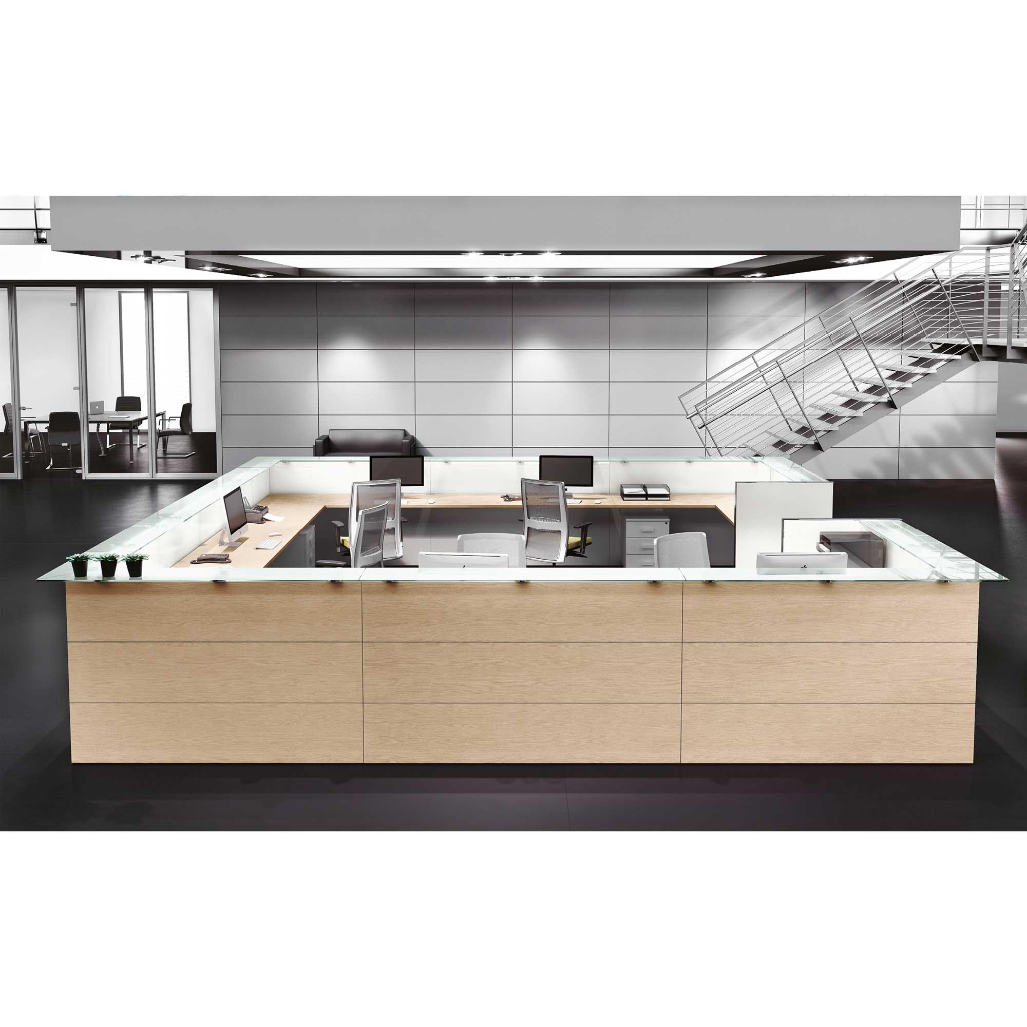 Reception arredamento per uffici catania sicilia tl for Arredo ufficio catania